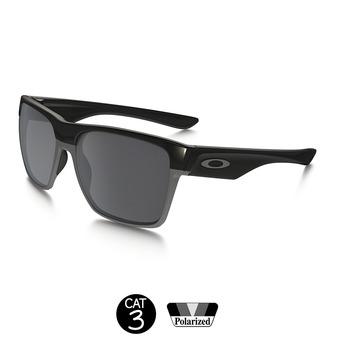 Lunettes polarisées TWO FACE XL polished black/black iridium