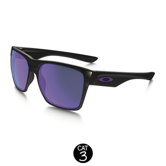 Lunettes de soleil TWO FACE XL polished black/violet iridium®