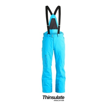 Pantalon de ski à bretelles homme DARE TAILORED electric blue