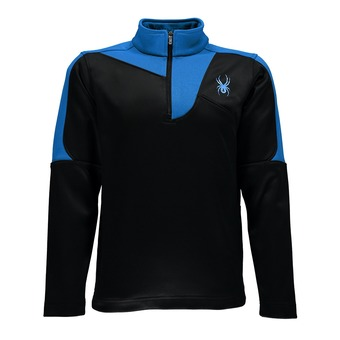 Maillot ML 1/2 zip garçon CHARGER THERMA STRETCH blk/elb