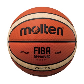 Ballon de basket GMX orange/ivoire