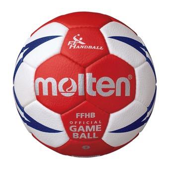 Balón de balonmano HX5001 blanco/rojo/dorado