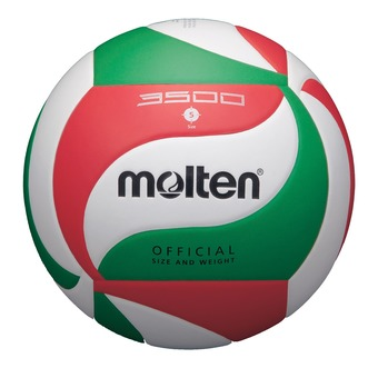 Balón de voleibol V5M3500 blanco/rojo/verde