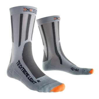 Calcetines de senderismo TREK EXTREM LIGHT grey / marine