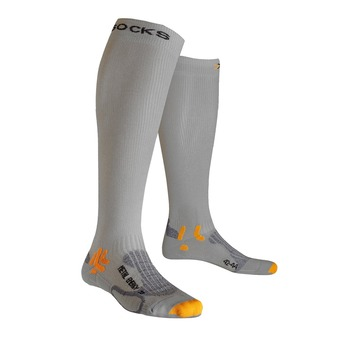 Calcetines de running SPEED METAL ENERGISER silver/grey