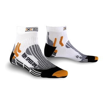 Calcetines de running SPEED ONE white / black
