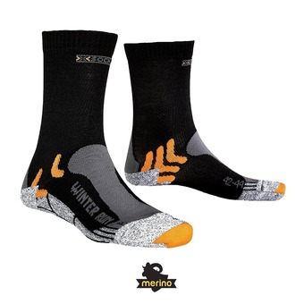 Calcetines de running WINTER RUN black