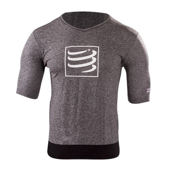 Camiseta hombre TRAINING grey melange