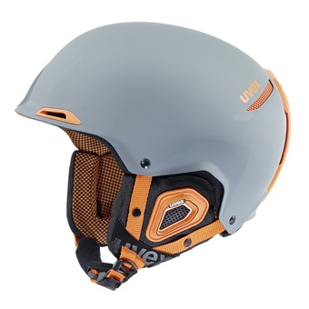 Casque de ski JAKK+ grey orange