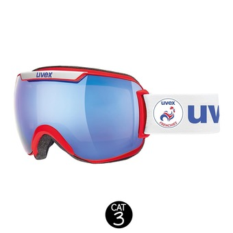 Masque de ski DOWNHILL 2000 LM  red frenchies