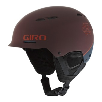 Casco DISCORD matte marron/turbulence