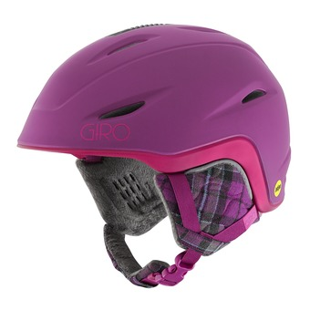 Casco mujer FADE MIPS matte berry/magenta
