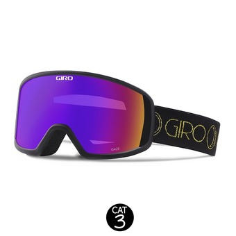 Gafas de esquí mujer GAZE black/gold moon phase - rose spectrum