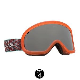 Gafas de esquí CHARGER gloss white/brose silver chrome