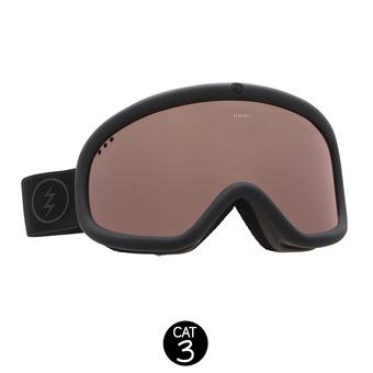 Masque de ski CHARGER matte black/brose