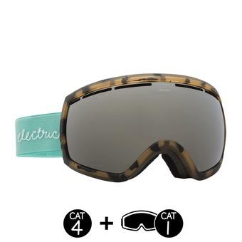 Gafas de esquí mujer EG2 seafoam tort/brose silver chrome+light green - 2 pantallas