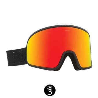 Masque de ski ELECTROLITE matte black/brose red chrome