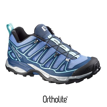 Chaussures randonnée femme X ULTRA 2 petunia blue/midnight blue/wild violet