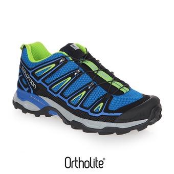 Chaussures randonnée homme X ULTRA 2 blue/black/green
