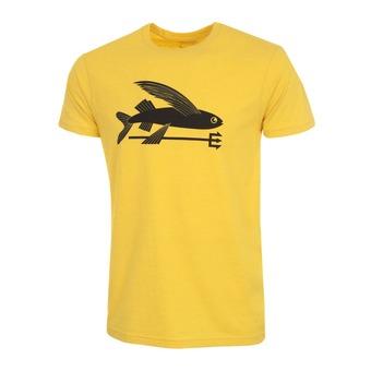 Camiseta hombre FLYING FISH  chromatic yellow