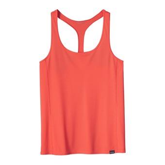 Camiseta de tirantes mujer CAPILENE LIGHTWEIGHT carve coral