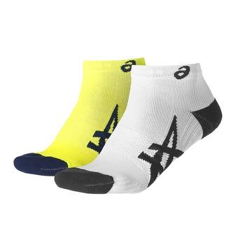 Lot de 2 paires de chaussettes 2PPK LIGHTWEIGHT safety yellow