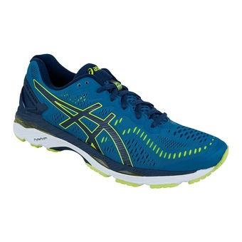 Zapatillas running hombre GEL-KAYANO 23 thunder blue/safety yellow/indigo blue