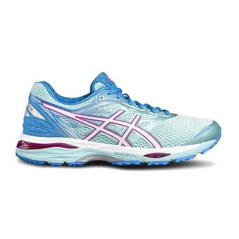 Chaussures running femme GEL-CUMULUS 18 aqua splash/white/pink glow