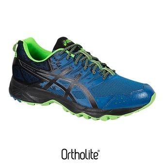 Zapatillas trail hombre GEL-SONOMA 3 thunder blue/black/green gecko