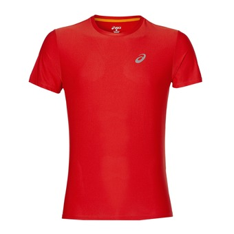 Camiseta hombre ESSENTIALS fiery red