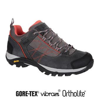 Chaussures de randonnée femme MOOVEN LOW GTX dark grey/papaye