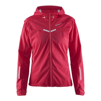Chaqueta impermeable mujer EDGE WEATHER push/sweet