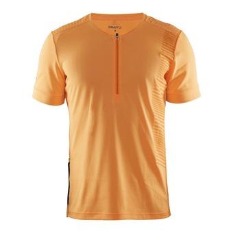 Camiseta hombre GRIT sprint/flourange