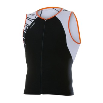 Camiseta uSINGLET armada black/orange