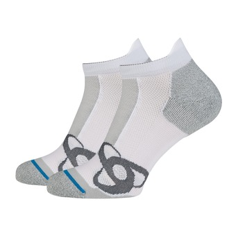 Calcetines RUNNING LOW CUT white
