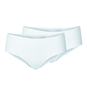 Pack de 2 shortys mujer THE INVISIBLES white