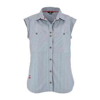 Camisa sin mangas mujer SARIGUA  blue sense