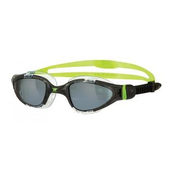 Gafas de natación AQUA FLEX black/lime/titanium