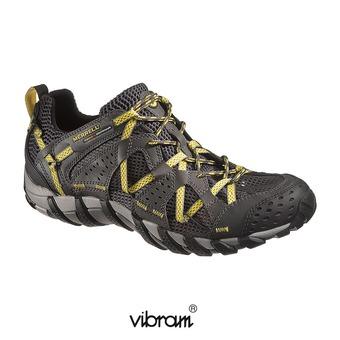 Zapatillas senderismo hombre WATERPRO MAIPO carbon/empire yellow