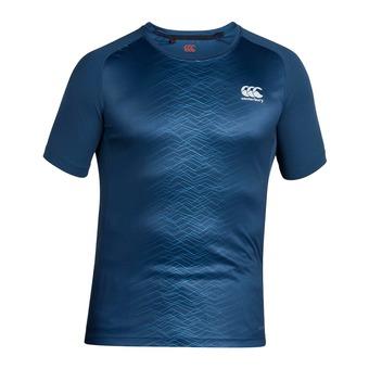 Camiseta hombre SUPERLIGHT POLY GRAPHIC majolica blue