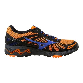 Chaussures trail homme WAVE MUJIN 3 clown fish/strong blue/dark shadow