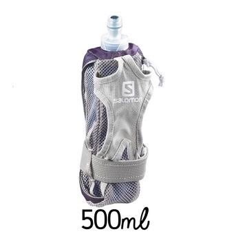 Portabotellín  HYDRO purple velvet/white