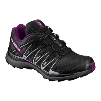 Zapatillas trail mujer XA LITE black/magnet/grape juice
