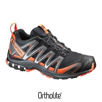 Zapatillas trail hombre XA PRO 3D  black/magnet/flame