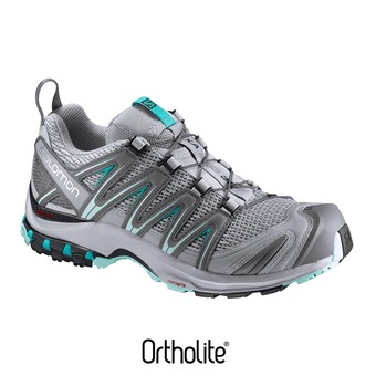 Chaussures trail femme XA PRO 3D W quarry/pearl blue/ablu