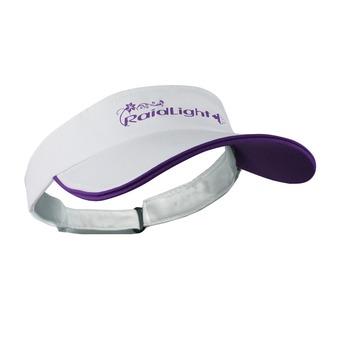 Visière femme R-SUN white/purple