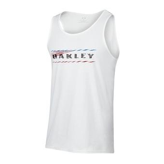 Camiseta hombre 50/50 BLURRED LINES white