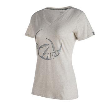 Camiseta mujer ZEPHIRA light grey melange