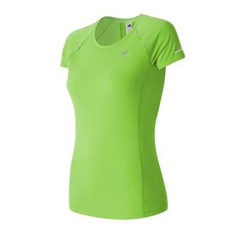 Camiseta mujer NB ICE lime glo