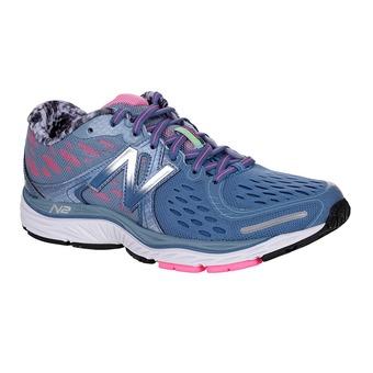 Zapatillas running mujer 1260 V6 blue/pink